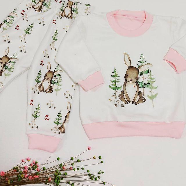 buzo conejo y pantalon bebes dicen mis suenos inierno 2021