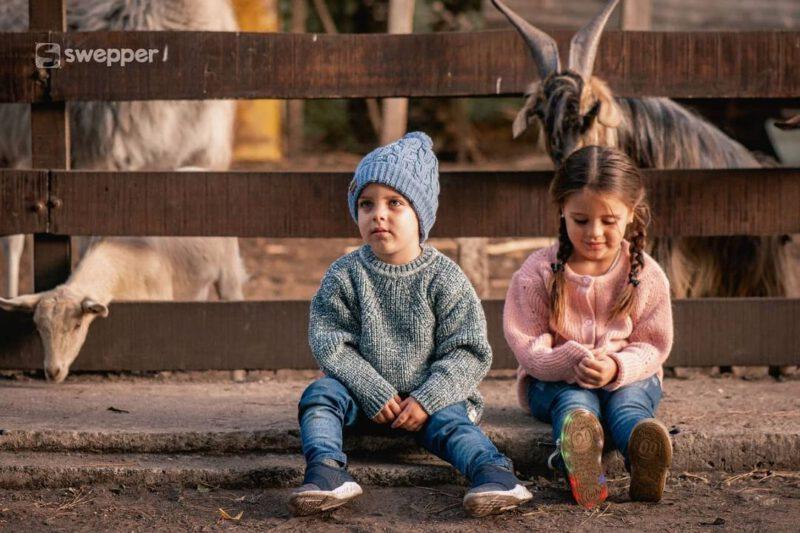 buzo de lana tejido ninos invierno 2021