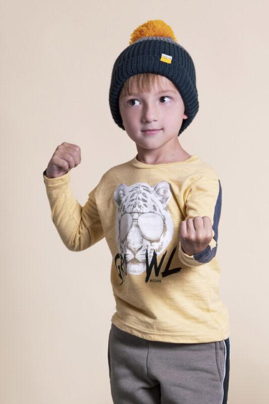 buzo y pantalon algodon nene Mission Junior invierno 2021