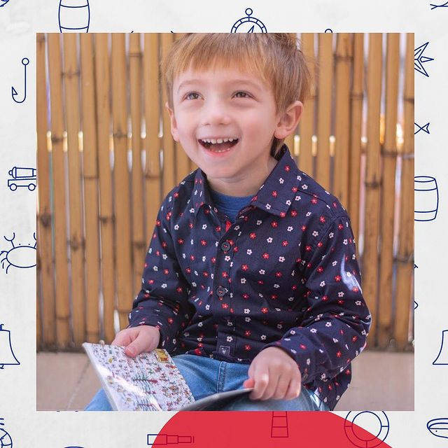 camisa a lunares para ninos Popeye kids invierno 2021