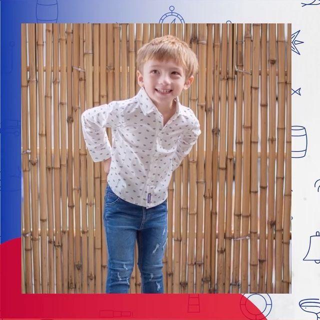 camisas mangas largas para ninos Popeye kids invierno 2021