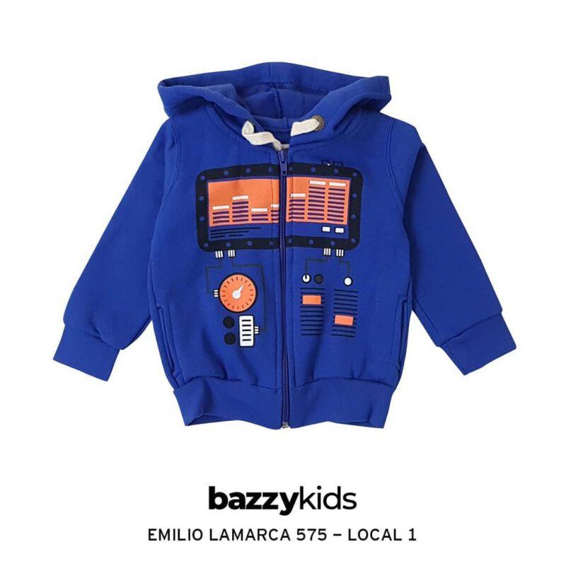 campera frisa nino Bazzy kids invierno 2021