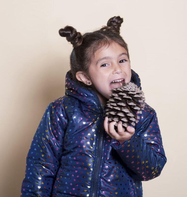 campera nena Mission Junior coleccion invierno 2021