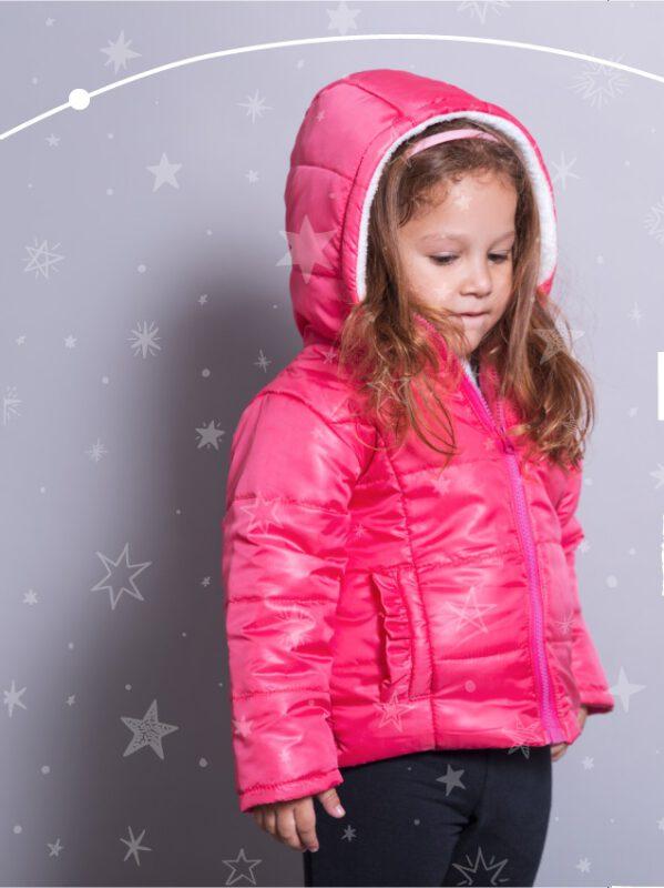 camperas de abrigo para nenas Mission Junior coleccion invierno 2021