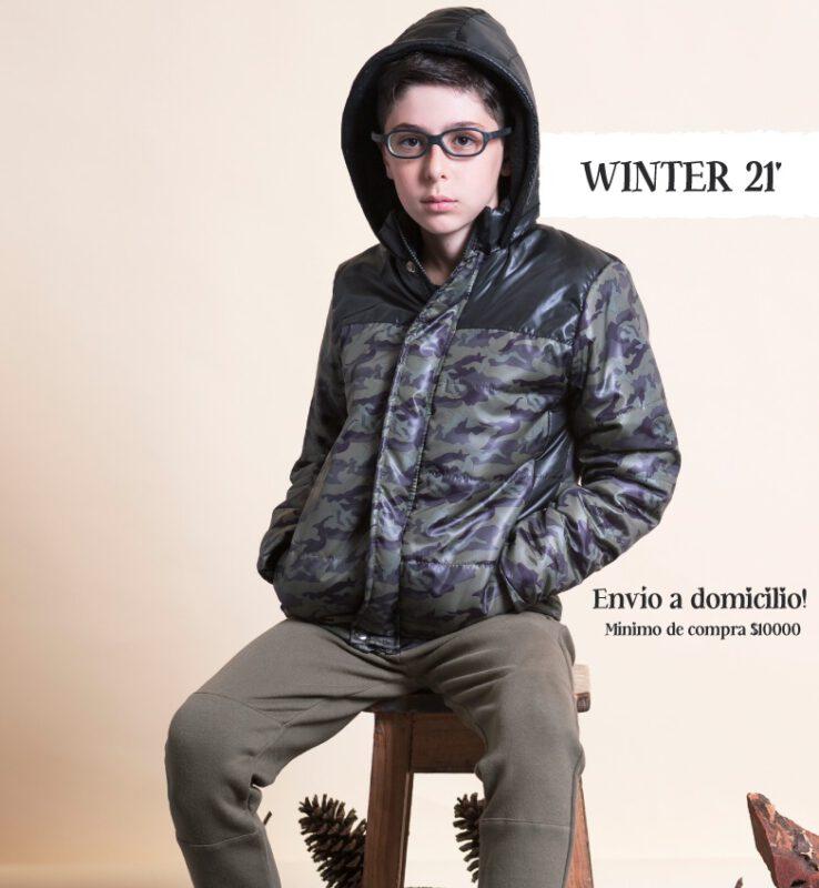 camperas de abrigo para ninos Mission Junior coleccion invierno 2021