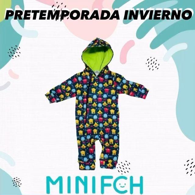 enterito impermeable bebes facheritos invierno 2021