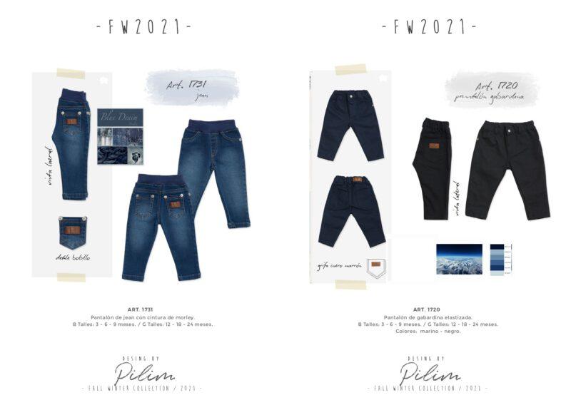 jeans para bebes pilim invierno 2021
