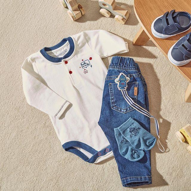 jeans y body bebe bebe cheeky invierno 2021