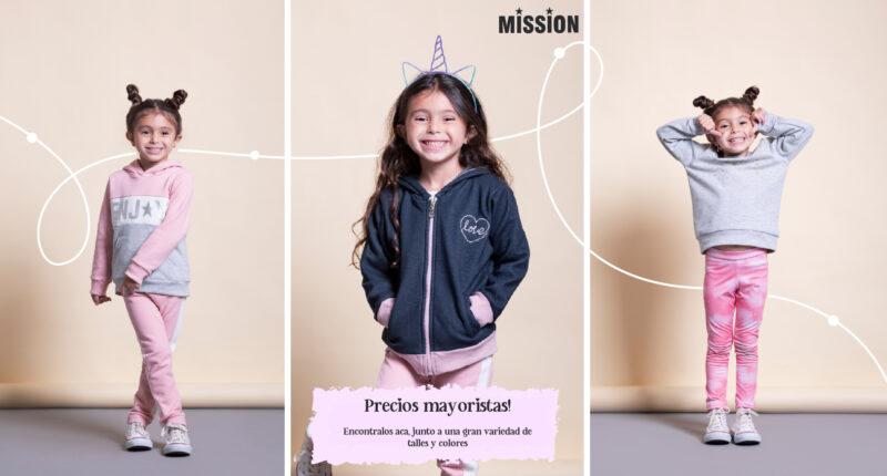 ropa para ninas Mission Junior coleccion invierno 2021