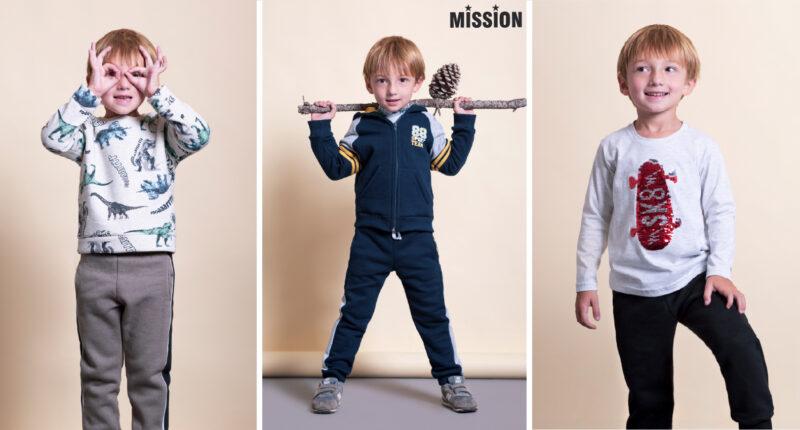 ropa para ninos Mission Junior coleccion invierno 2021