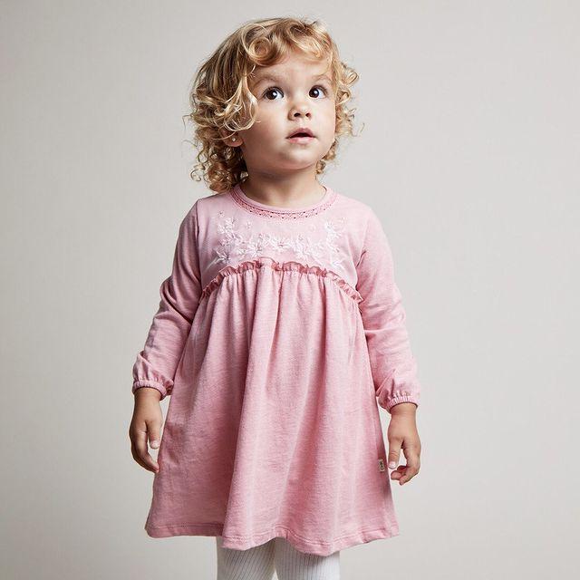 vestido mangas largas beba bebe cheeky invierno 2021
