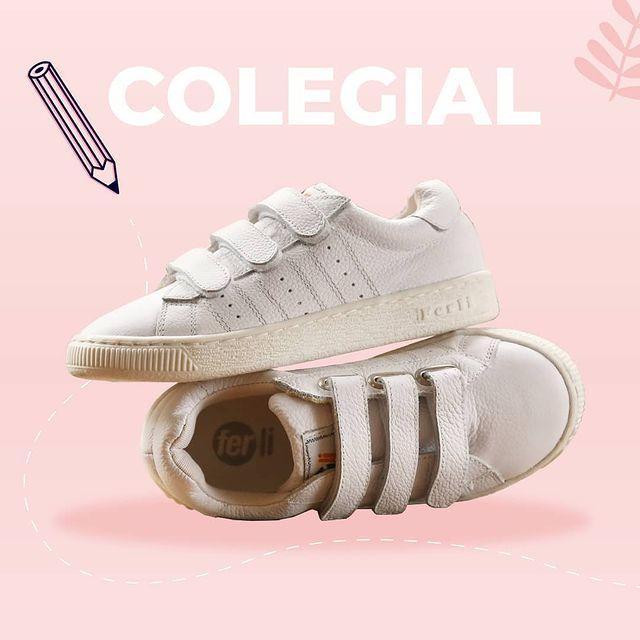 zapatillas velcro colegiales Ferli 2021