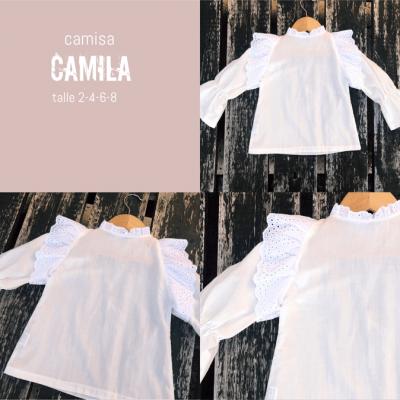 blusa blanca para nina waw invierno 2021 blusas para ninas