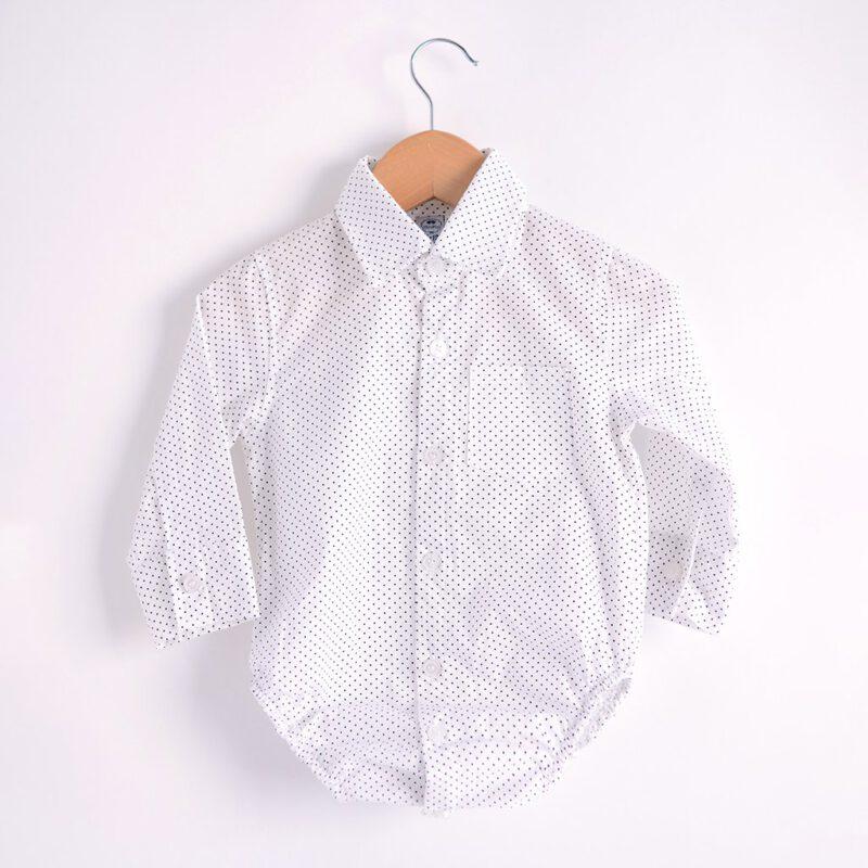 body camisa mangas largas bebe MiniPio invierno 2021