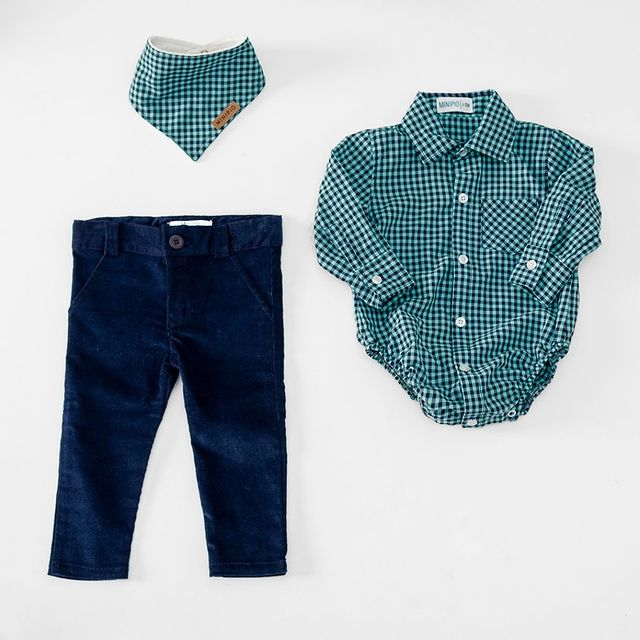 camisa mangas largas para bebe MiniPio invierno 2021