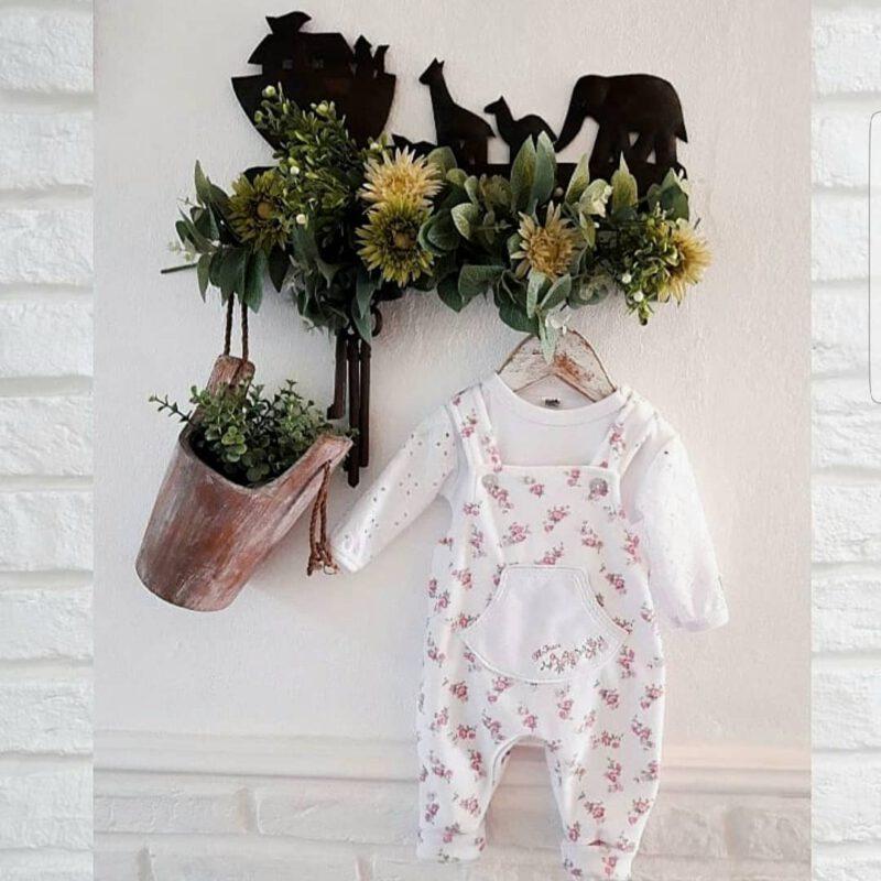 enterito algodon beba jardinero Globito invierno 2021