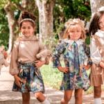 Vestidos y blusas para niñas mangas largas - Waw kids invierno 2021