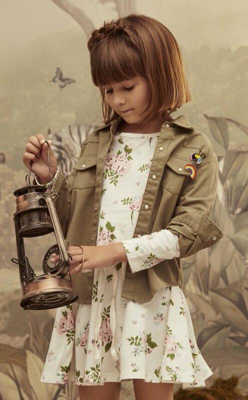 vestido de algodon mangas largas nena Paula Cahen D Anvers invierno 2021