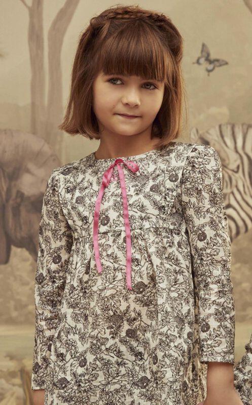 vestido mangas largas nena Paula Cahen D Anvers invierno 2021