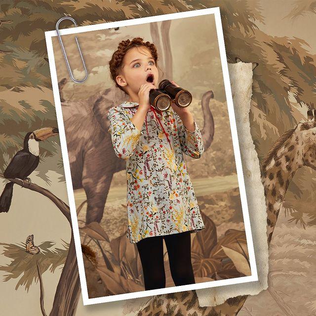 vestido para nenas corto mangas largas Paula Cahen D Anvers invierno 2021