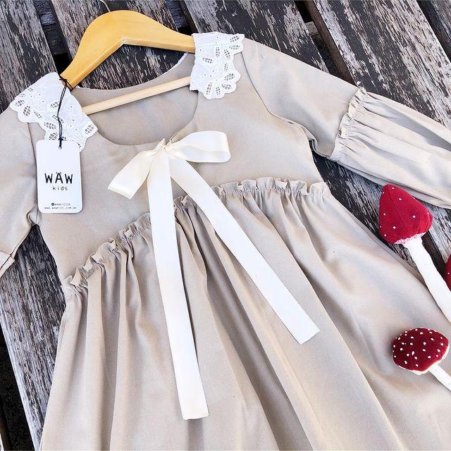 vestidos para nina invierno 2021 waw kids