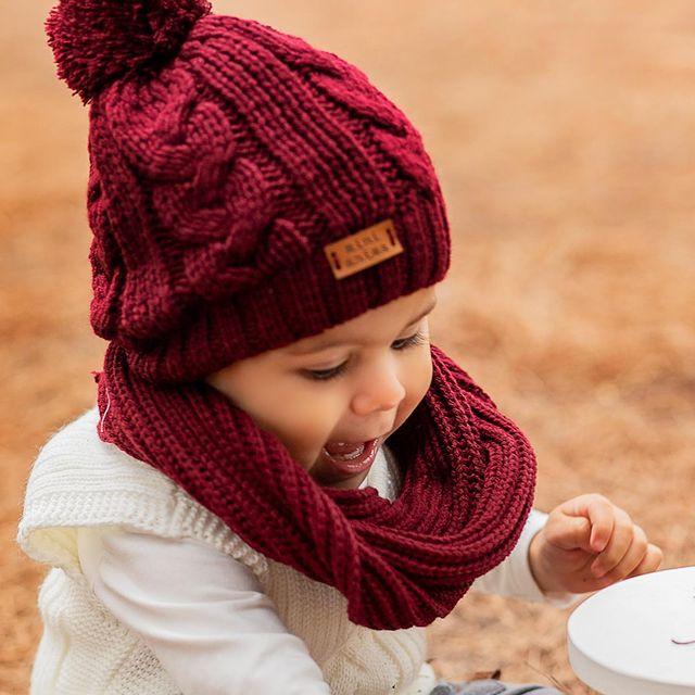 accesorios tejidos para bebes mini anima invierno 2021