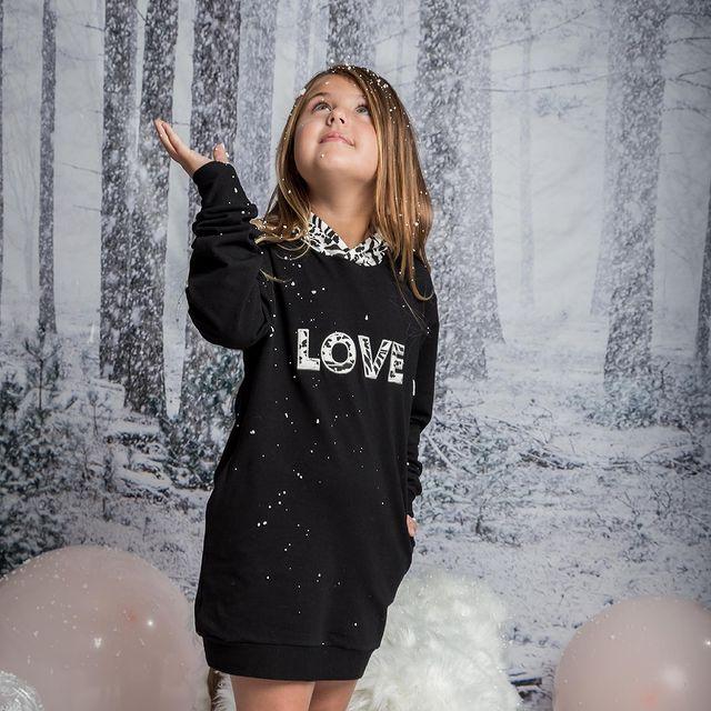 buzo vestido nina wanna go invierno 2021