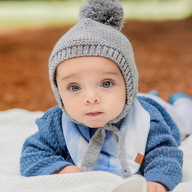 capelina tejida bebes mini anima invierno 2021