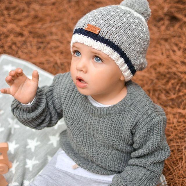 gorro de lana para bebes mini anima invierno 2021