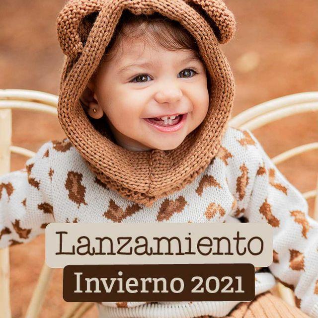 gorro osito bebes mini anima invierno 2021