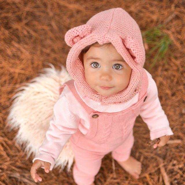 gorro tejido lana beba mini anima invierno 2021