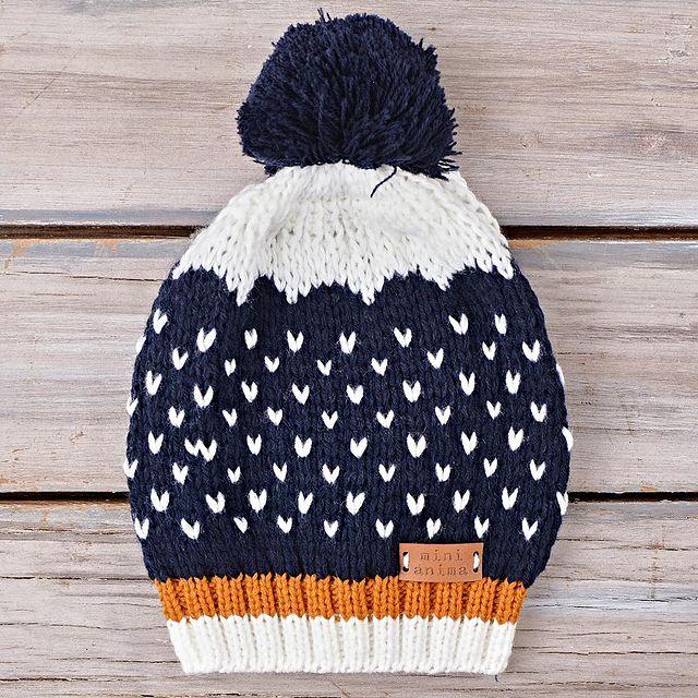 gorros tejidos lana bebe mini anima invierno 2021