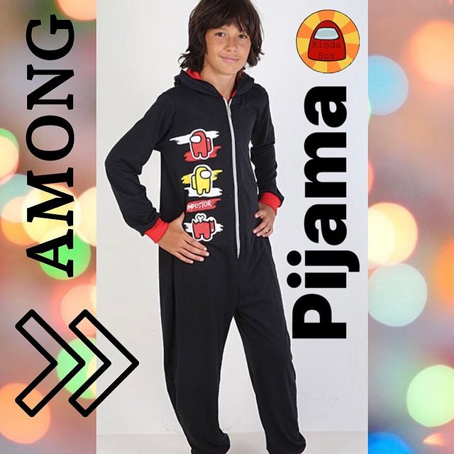pijama enterito among us urbanito invierno 2021