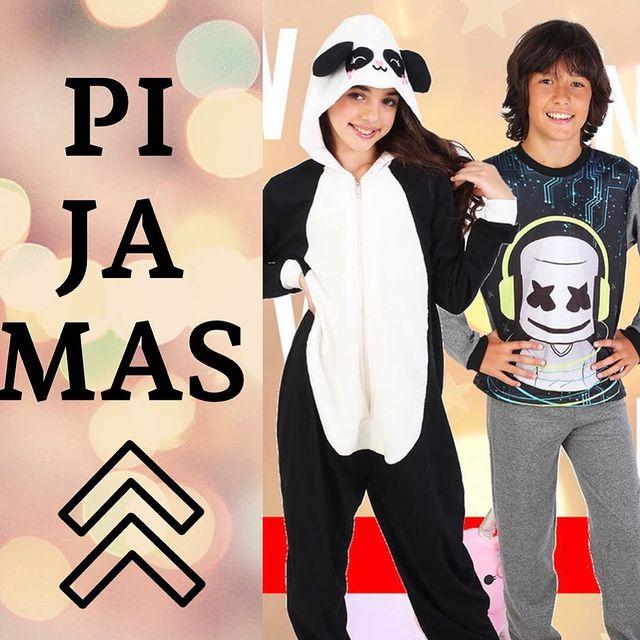 pijama enterito panda urbanito invierno 2021