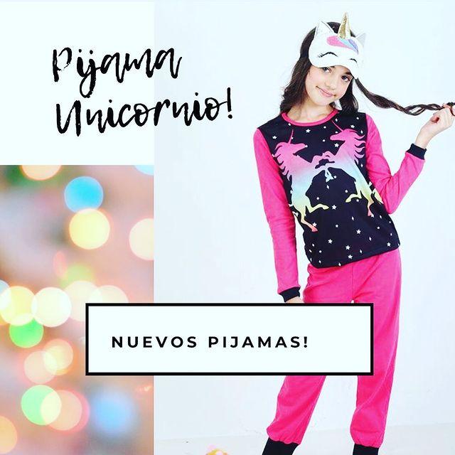 pijama unicornio urbanito invierno 2021