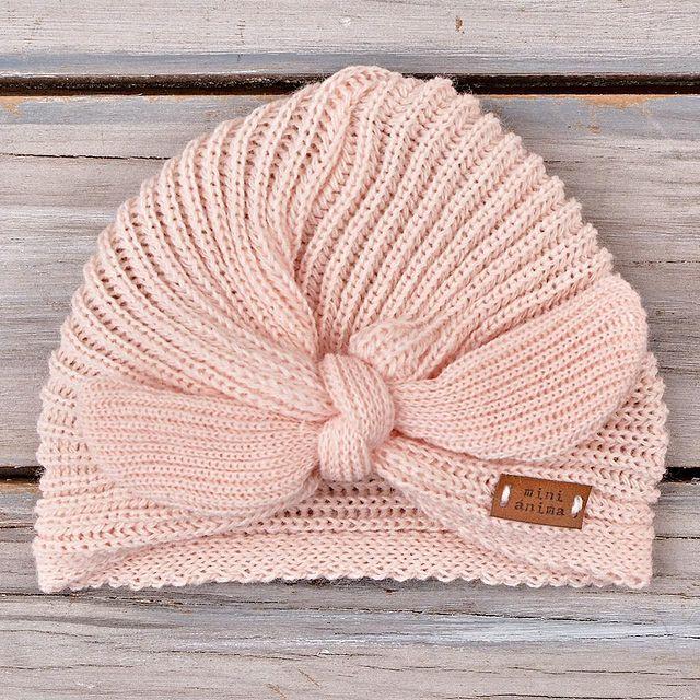 turbante tejido beba mini anima invierno 2021