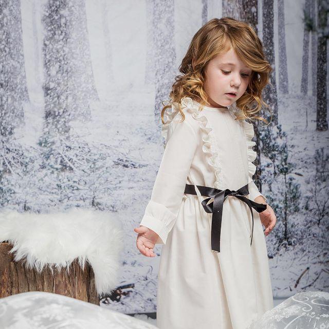 vestido lanilla nina wanna go invierno 2021