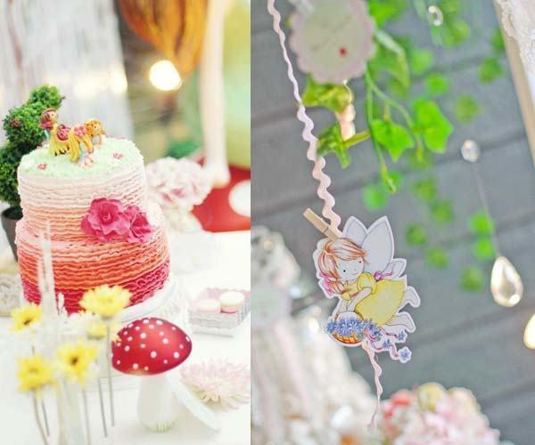decoracion de hadas y magia fiesta cumpleanos