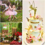 Fiesta de cumpleaños tematica de hadas para niñas