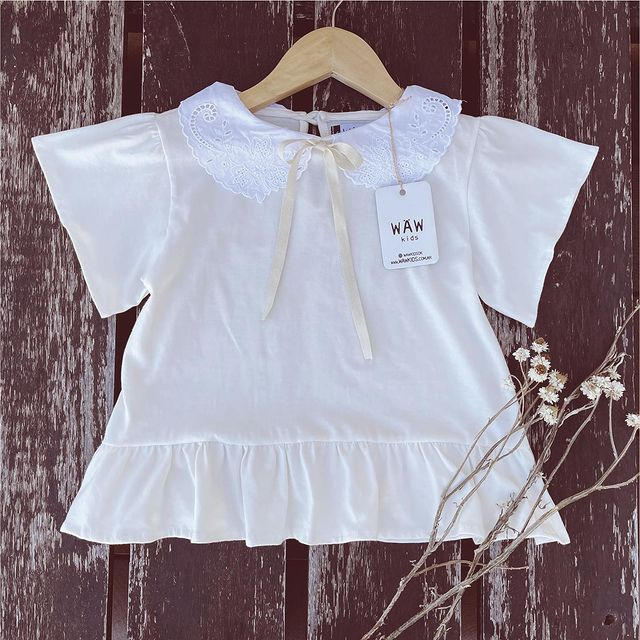blusa blanca nina waw verano 2022