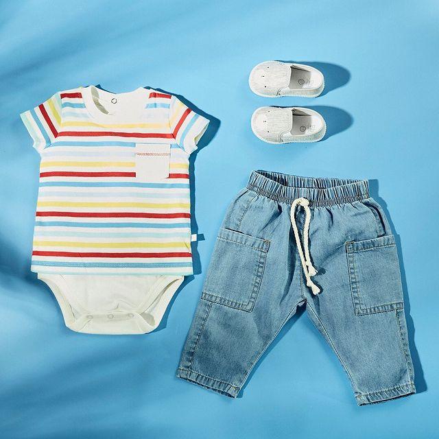 body remera y jeans cheeky bebe verano 2022