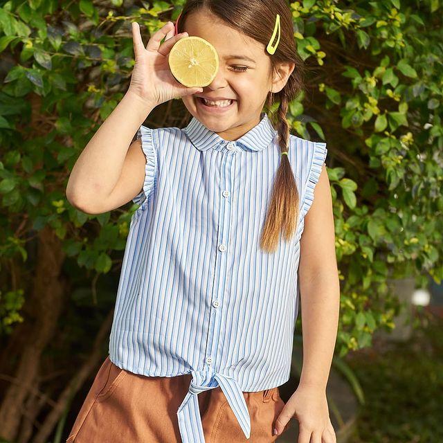 camisa a raya mini Tramps verano 2022