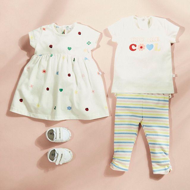 vestido algodon beba cheeky bebe verano 2022