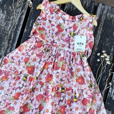 vestido flores nina waw verano 2022