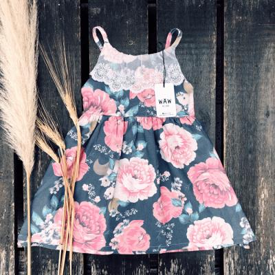 vestido nena floreado waw verano 2022