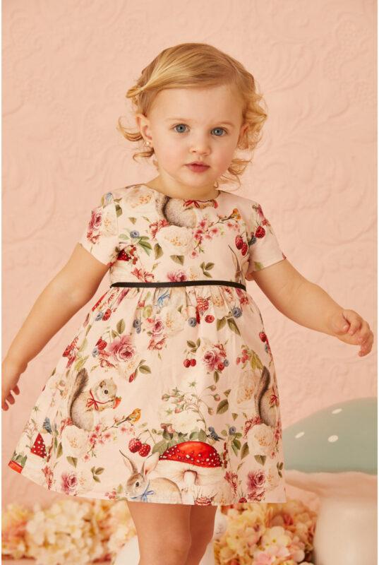 vestido para bebas little akiabara verano 2022