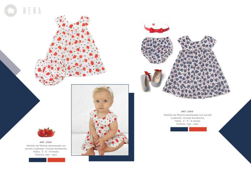 vestido portapanalbeba Pilim verano 2022