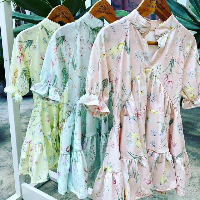 vestido tunica corto nena gdeb verano 2022