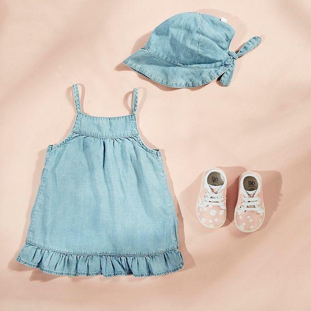 vestido y capelina beba cheeky bebe verano 2022