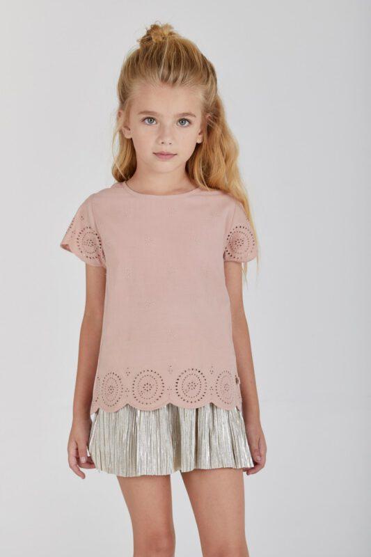 blusa calada para nena rapsodia girls verano 2022
